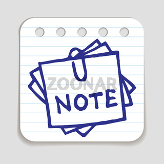 Doodle Notepad icon.