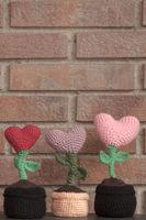 valentines decorationsflower hearts
