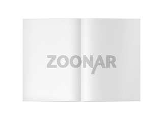 blank empty 3d book cover