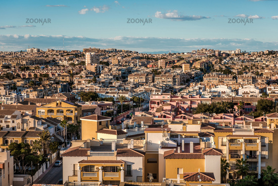 Cityscape of Torrevieja. Alicante province, Costa Blanca. Spain