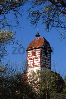 Veitskirche in Nehren, Baden Wuerttemberg