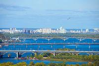 Kyiv bridges overview, Ukraine
