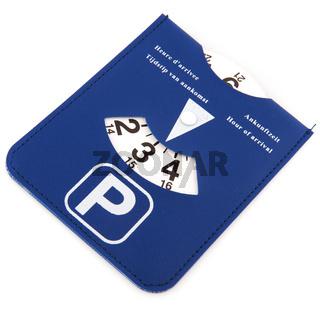 Dutch parking card