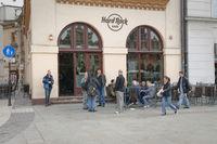 Hard Rock Cafe in Krakow Poland