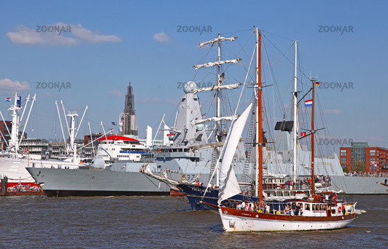 Impressions of the 827th Birthday of the Port of Hamburg 2016, Germany