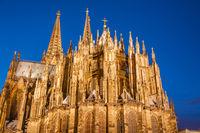 Cologne Kom, Facade, Cologne, North Rhine-Westphalia, Germany, Europe