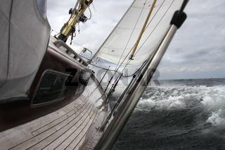 Segelboot auf derOstsee