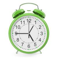 illustration of desktop alarm clock.