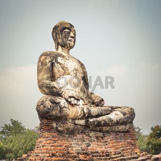 Wat Worachetharam. Ayutthaya