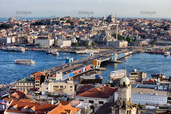 City of Istanbul Cityscape in Turkey