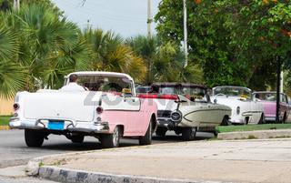 Amerikanische Cabriolet Oldtimer in Kuba Varadero
