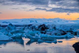 Die Gletscherlagune Jokulsarlon in Island