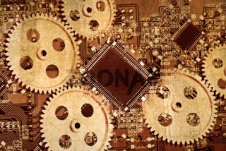 Analoge und digitale Technik