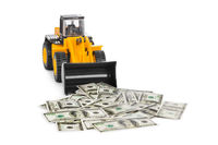 Toy loader and money