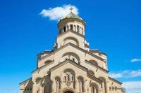 Famous Sameba church. Tbilisi, Georgia
