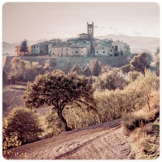 Village of Montefabbri in Italy