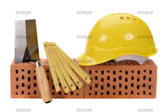 brick and tool for house construction