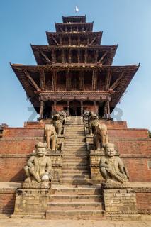 Nyatapola temple in Bhaktapur