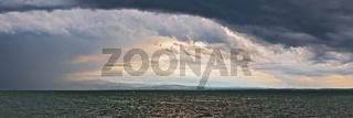 Gewitterstimmung am Bodensee