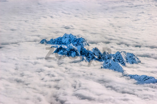 Alps Over the Clouds