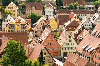 Aerial View over Dinkelsbuehl