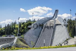 New Holmenkollen Ski Jump Oslo Norway