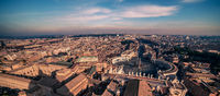 AVatican City and Rome, Italy. St. Peter#39;s Square