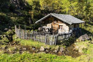 Urige Berghütte
