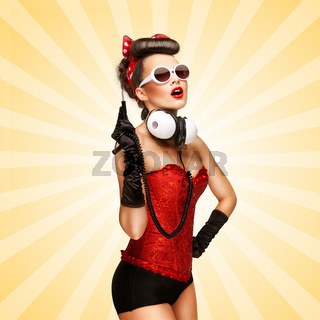 Pin-up party.