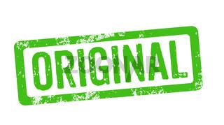 Green Stamp - Original