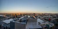 Morning panorama of Los Angeles skyline