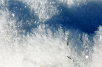 A pillow of ice mist