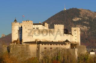 Festung Hohensalzburg in Salzburg Österreich