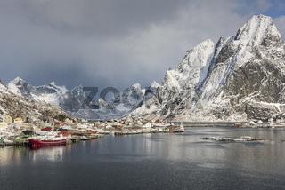 Reine, Moskenesoya, Lofoten, Norwegen