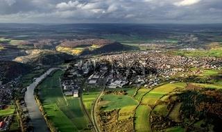 Luftaufnahme von Karlstadt am Main