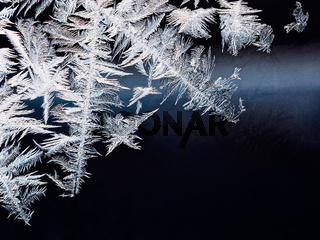 frozen window background