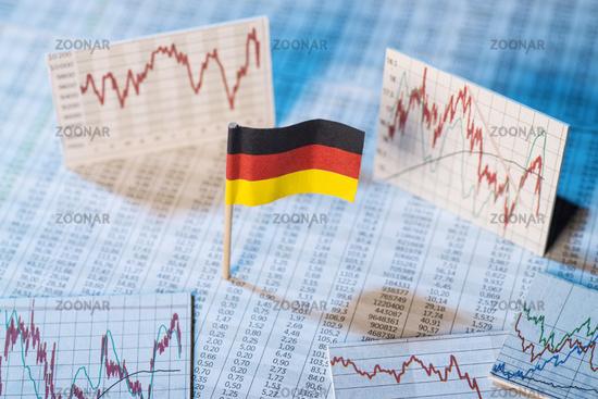 Development of the economy in Germany