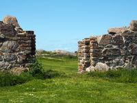 Part of Hammershus castle ruins on Bornholm 3