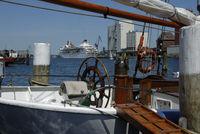 Ships in Flensburg Harbour