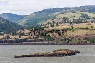 Columbia River Gorge Pacific Northwest between Oregon and Washington