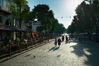 Deribasivska street, Odessa