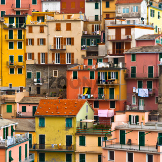 Colourful Manarola village, Cinque Terre, Italy.