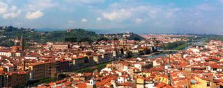 Arno florenz Panorama