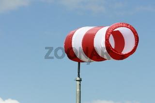 windsack mit luft gefüllt