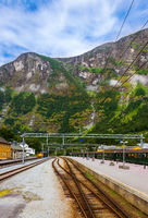 Train in Flam - Norway