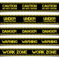 Construction Caution Lines