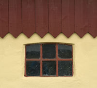 Window with roof