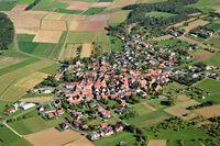 Waldzell in Main-Spessart ditrict