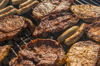 meat barbecue grill
