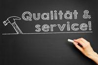 Qualität  service!